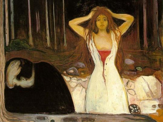 Munch, Cendres, 1894