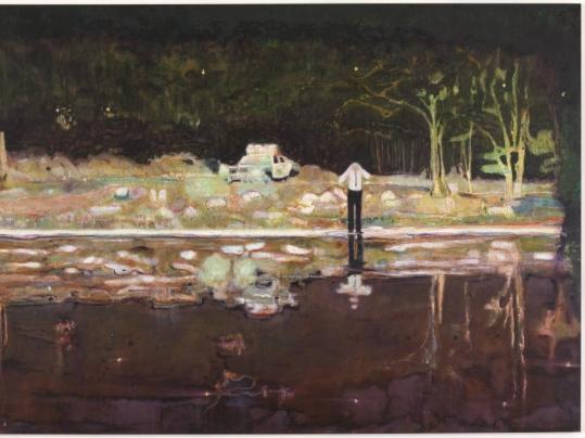 Peter Doig, Echo Lake, 1998 ©Peter Doig